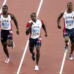 USA Men's 200m photo from si.com